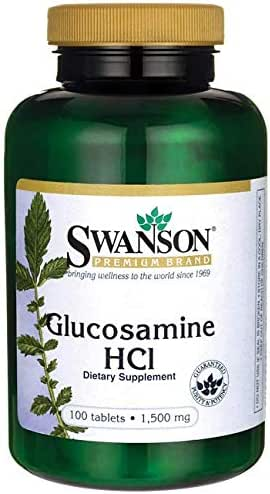 Swanson Glucosamine Hcl 1500 Milligrams 100 Tabs