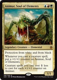 Animar, Soul of Elements - Foil - Masters 25