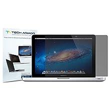 "Macbook Pro Privacy Screen Protector, Tech Armor Premium Privacy Apple Macbook Pro Retina 13"" (2014) Film Screen Protector [1-Pack] - Lifetime Warranty"