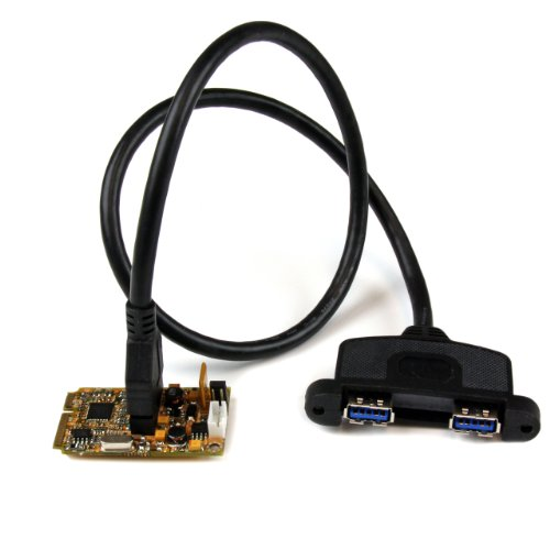 StarTech.com 2 Port SuperSpeed Mini PCI Express