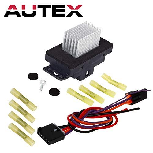 PartsSquare HVAC Blower Motor Resistor Regulator w/Plug Pigtail RU359 Replacement for 2005 2006 2007 2008 2009 BUICK ALLURE LACROSSE 2004 2005 2006 2007 CHEVROLET MONTE CARLO & PONTIAC GRAND PRIX