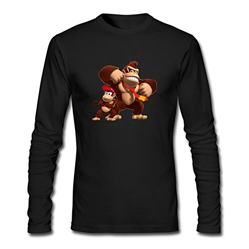 Kong Country Tropical Freeze Long Sleeve T-shirt Black XL ()