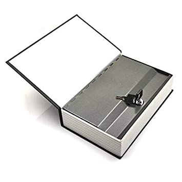 Disguised Lock Box Book Safe Diversion Security Money Cash Hide Home Jewelry