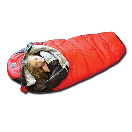 Backside Kid X-Fiber +20 Degree Xtreme Sleeping Bag (Red/Black)
