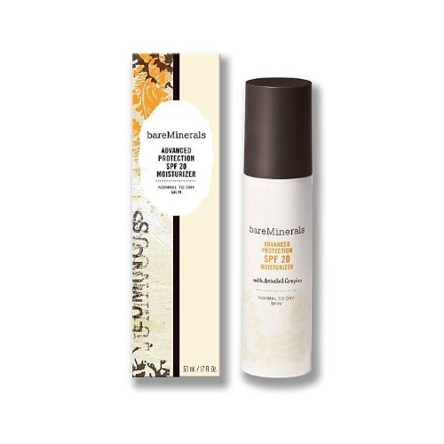 bareMinerals Advanced Protection SPF 20 Moisturizer, Normal To Dry Skin, 1.7 Fluid Ounce