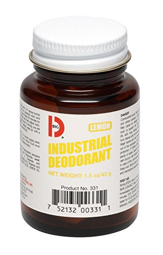 Big D 331 Industrial Deodorant, Lemon Fragrance, 1.5 oz (Pack of 12) - Lasts up to 45 days - Wick air freshener ideal for restrooms, patient care, smoking areas, musty rooms ()