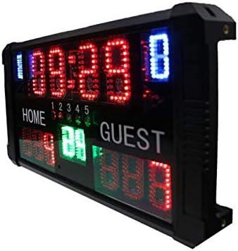 Huanyu - Reloj de Cuenta Regresiva con indicador LED de Baloncesto ...