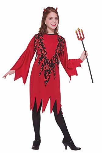 Sassy Devil Costumes (Forum Novelties Devil Child Costume, Small)