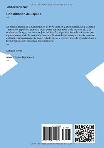 Constitución de España (Leyes): Amazon.es: Vv. Aa, Vv. Aa: Libros