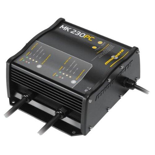 UPC 029402037056, Minn Kota MK 230 PC Precision On-Board 2-Bank Charger, 15-Amp