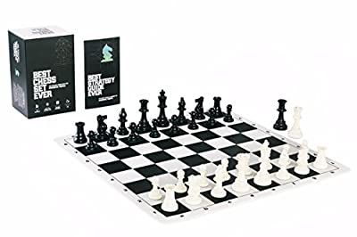 Best Chess Set Ever II - Chess Board Game with Triple Weight Tournament Pieces, Chess Board and Game Box