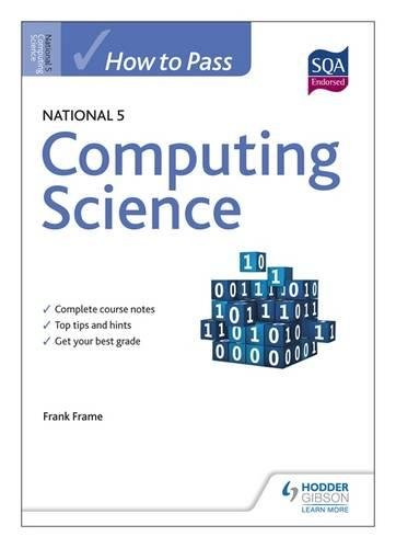 [Read] How to Pass National 5 Computing Science (How to Pass National 5 Series) [E.P.U.B]