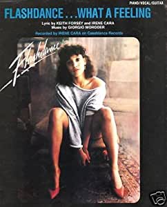 Amazon Com Sheet Music Flashdance What A Feeling Irene