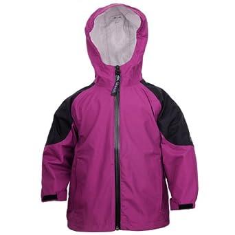 Amazon.com: Molehill Girls 2.5 Layer Rain Jackets, Berry, 2T ...