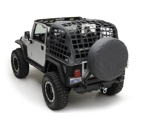 - Smittybilt 561035 Black Diamond C.RES System Cargo Net for Jeep Wrangler TJ