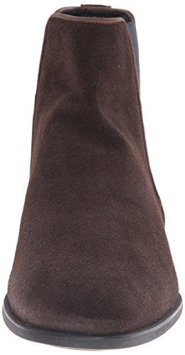 Aquatalia De Marvin K. Hombres Adrian Dress Suede Black