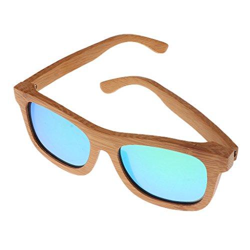 en SunniMix UV400 Vert SM Polarisées de Adultes Lunettes Soleil Bois lunette qPqSH4wZ