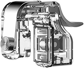 KYT-私 1ペア補助コントローラミニ発射ボタンゲーミングトリガ金属製のハンドル取り外し可能なアクセサリーネジ固定電話ゲームユニバーサル