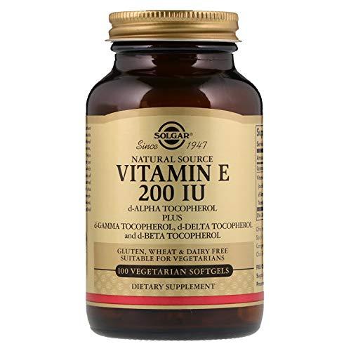 Solgar - Vitamin E 200 IU, 100 Vegetarian Softgels