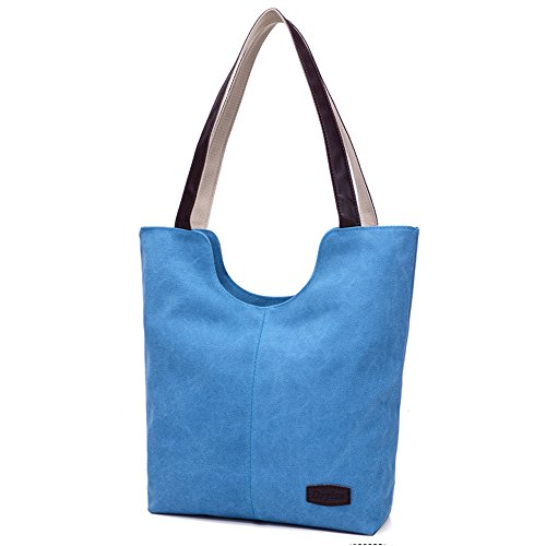 Pelisy Bag Bags Tote Blue On Carry Travel For Shoulder Women Beach Handbag Overnight rUzqrw5