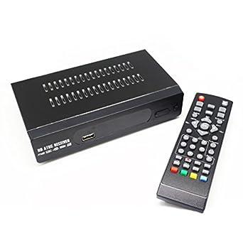 olibay HD receptor de TV digital ATSC Sintonizador de convertidor para TV analógica: Amazon.es: Amazon.es