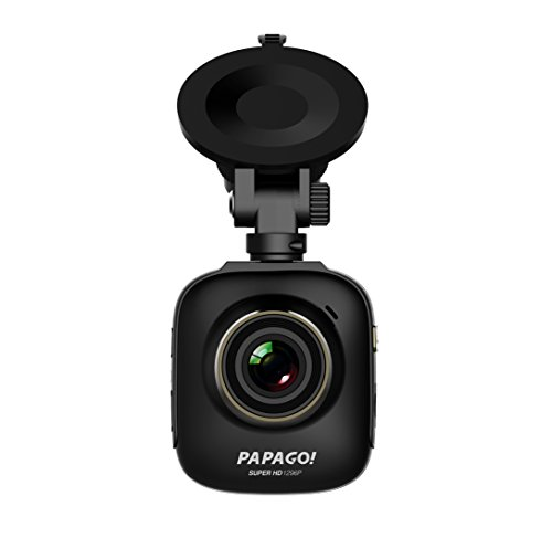 PAPAGO GoSafe S36 Car Dash Camera GoSafe S36 Super HD Dash Cam 1296P Car DVR, Car Cam, Night Vision, Black (GSS368GSC)