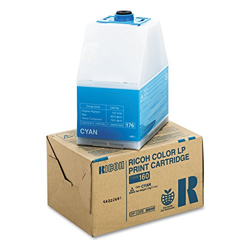 Ricoh 888445 Type 160 - Cyan - original - toner cartridge - for Ricoh C7528n, C7535hdn, CL7200, CL7200 DT1, CL7200 DT2, CL7300, CL7300 DT1, CL7300 DT2