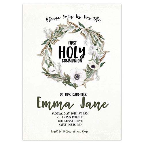 (First Holy Communion Invitation | Personalized)