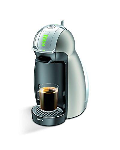 Krups KP 160T Nescafé Dolce Gusto Genio Kaffeekapselmaschine (automatisch) titanium