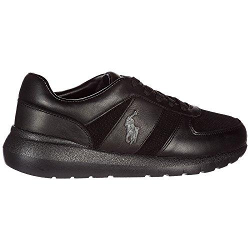 Lauren Ralph Schuhe Herrenschuhe Leder Herren Schwarz Sneakers faradqxwC