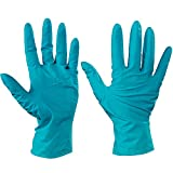 Top Pack Supply Ansell Touch N Tuff Nitrile Gloves, Small, Green