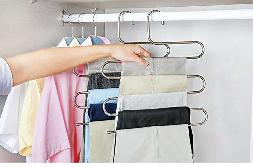 Rziioo Household Clothes Rack Adult Hanger Wet And Dry Dual