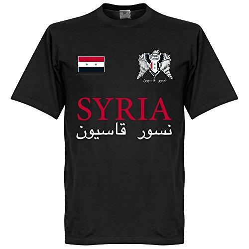 Siria nazionale t-shirt–nero
