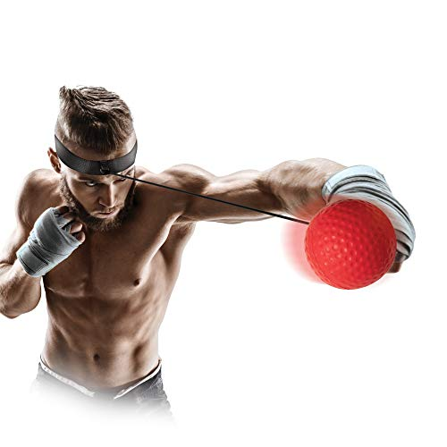 Protocol Fitness Accessories – Reflex Ball Kit, Core Strength Trainers, & Jump Rope – Strength Training Equipment – Abs…