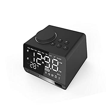 X11 Wireless Mirror Alarm Clock Speaker Tarjeta multifunción ...
