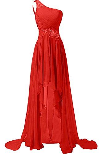 Lange Lilybridal Brautjungfern Rot Abschlussballkleider Spitze Abiball Abendkleider 114 Glitzer Ball FHqHtg6n