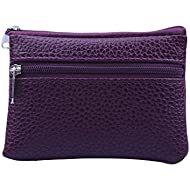 Respctful Leather Wallets for Women Small Card Holder Purse Mini Zipper Coin Purse Slim Credit Cards Wallet
