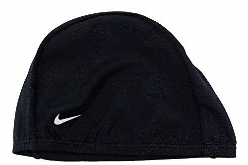 Nike Swim 93065 unisex Spandex Training Cap, Black-OS