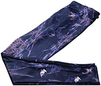 スタイリッシュなプリントデザインクイックドライパンツランニングフィットネスズボンヨガパンツ、#07