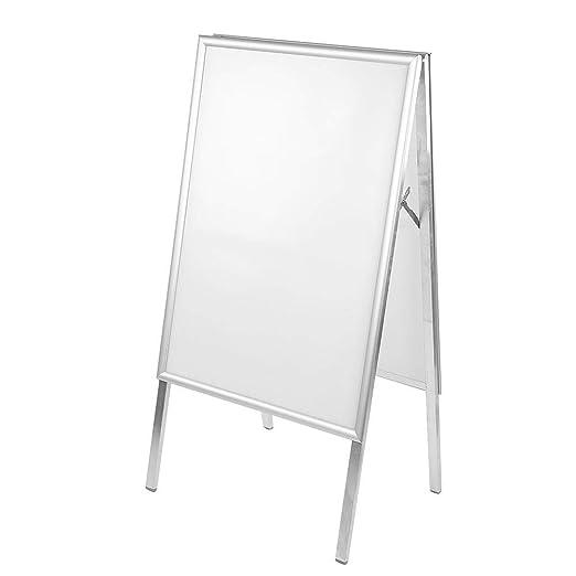 Greeflu Soporte para Cartel de Aluminio, A1 Aleación de ...