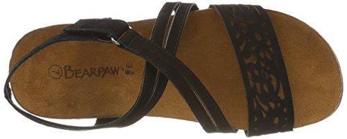 Bearpaw Dames Glenda Sandaaltjes Zwart (zwart / Zwart (884) 884)