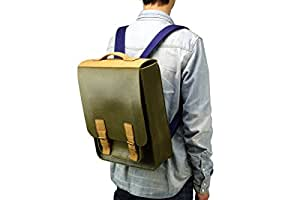 M.R.K.T. Kendrick 198930B Multipurpose Backpacks, Olive Green/Pacific Blue, One Size