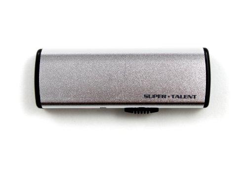 Super Talent SSP 8 GB USB 2.0 Flash Drive STU8SSP-S (Silver)