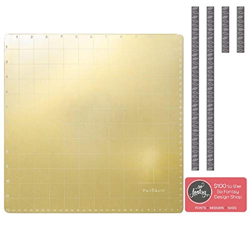 Magnetic Mats - Foil Quill Magnetic Mat 12