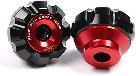 DER Hohe Qualit/ät Motorrad-Vorderradgabel Rad Absturz Slider Absturzsicherung for Yamaha Xmax 125 250 300 400 155 125 Nmax BWS Aerox Zubeh/ör Motorr/äder Color : Black