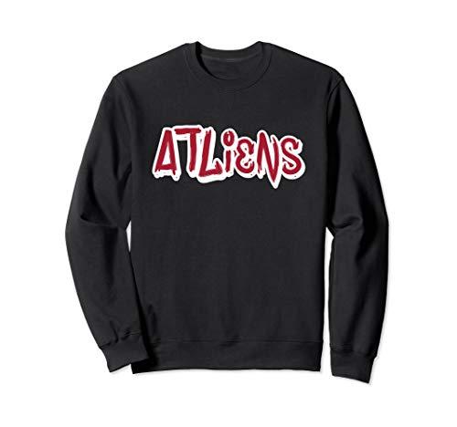 Atlanta ATLiens Sweatshirt (Fleece Atlanta Thrashers Sweatshirt)