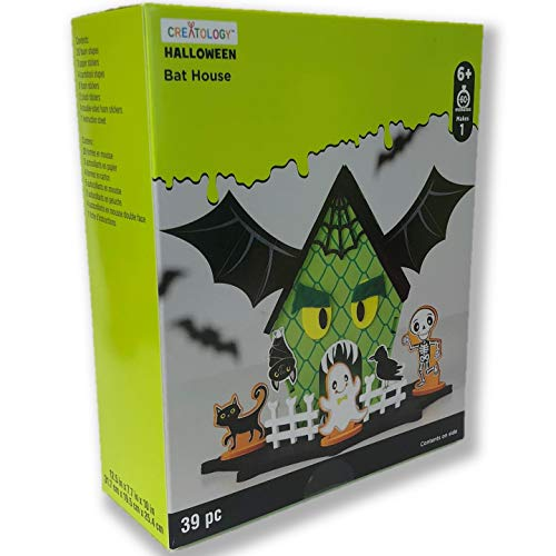 Creatology Halloween 3D Activity Kit ~ Bat House (39 Pieces) -