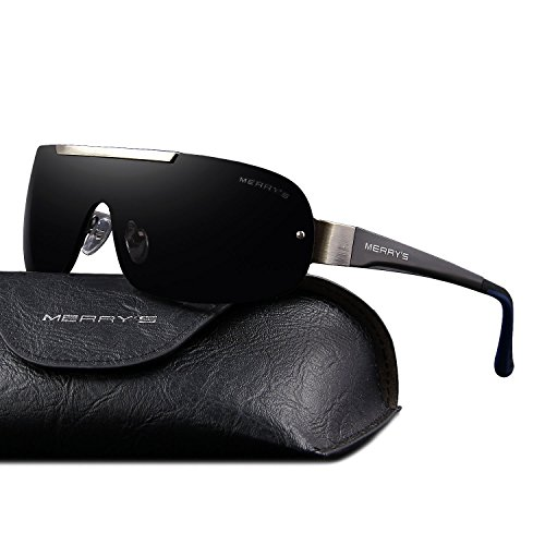 MERRYS Sale New Designer Glasses Polarized Sunglasses For Men Brand Sun glasses Are Male S8616(Gray 70)
