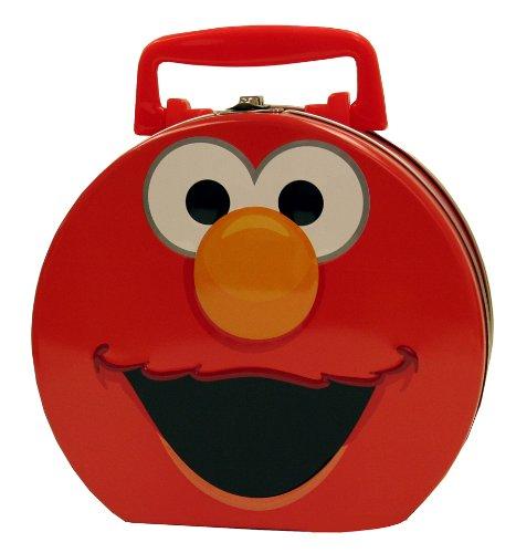 The Tin Box Company 645407-12 Elmo Hat Box Carry All Tin