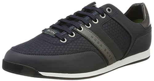Boss Athleisure Maze_lowp_air Sneaker, Nero Blu (blu Scuro)